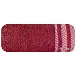 Ręcznik frotte Mona czerwony EUROFIRANY rozmiar 100x150 cm