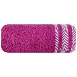 Ręcznik frotte Mona liliowy EUROFIRANY rozmiar 100x150 cm