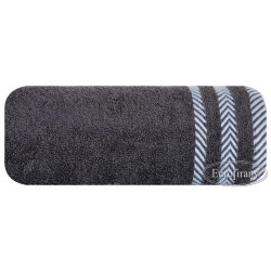 Ręcznik frotte Mona stalowy EUROFIRANY rozmiar 100x150 cm