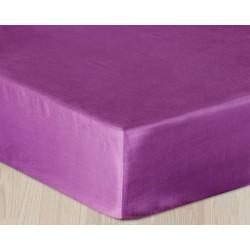 Prześcieradło Satynowe fioletowe DARYMEX rozmiar 200x220 cm