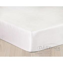 Prześcieradło Satynowe białe DARYMEX rozmiar 200x220 cm