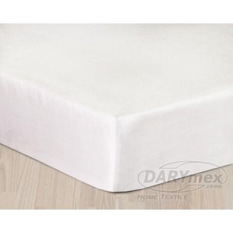 Prześcieradło Satynowe białe DARYMEX rozmiar 160x200 cm