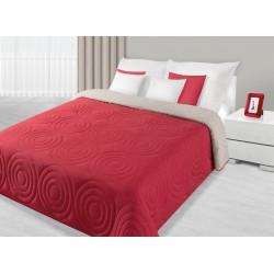 Narzuta Dekoracyjna Alisa 03 Czerwony + Beż EUROFIRANY rozmiar 170x210 cm