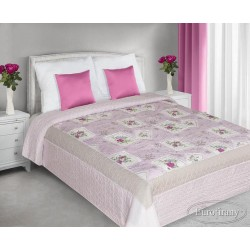 Narzuta Dekoracyjna Ada Różowa EUROFIRANY rozmiar 170x210 cm