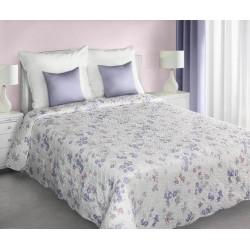 Narzuta dekoracyjna Suzie kremowa fioletowa EUROFIRANY rozmiar 170x210 cm