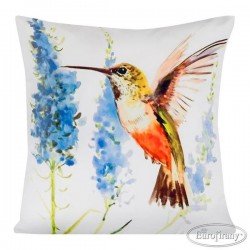 Poszewka dekoracyjna Bird 7 Ptaszek Pastele EUROFIRANY rozmiar 40x40 cm