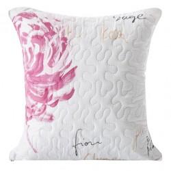 Poszewka dekoracyjna Bliss kremowa różowa EUROFIRANY rozmiar 40x40 cm