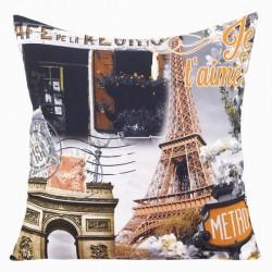 Poszewka dekoracyjna City 27 Eiffel Ja Taime EUROFIRANY rozmiar 40x40 cm
