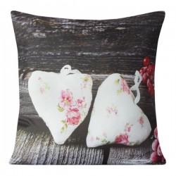 Poszewka dekoracyjna Hearts 2 Serca EUROFIRANY rozmiar 40x40 cm