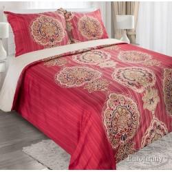 Pościel Satynowa Liwa czerwona EUROFIRANY 160x200 cm