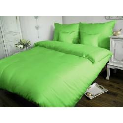 Pościel Satynowa jednobarwna zielona 014 DARYMEX 200x220 cm
