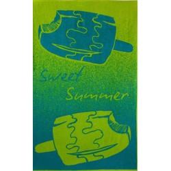 Ręcznik Plażowy Bambino Zielony 7961/2 ZWOLTEX rozmiar 100x160 cm