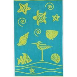 Ręcznik Plażowy Ocean 8139/1 ZWOLTEX rozmiar 100x160 cm