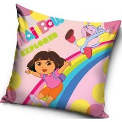 Poszewka dziecięca Dora 014 CARBOTEX rozmiar 40x40 cm