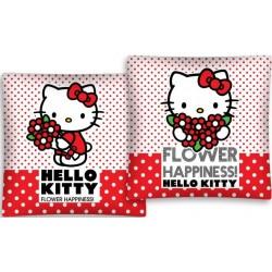 Poszewka dziecięca Hello Kitty 2455 DETEXPOL rozmiar 40x40 cm