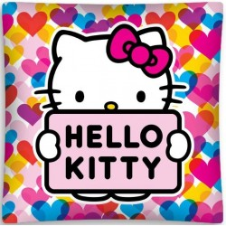 Poszewka dziecięca Hello Kitty 01 DETEXPOL rozmiar 40x40 cm