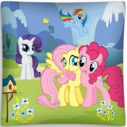 Poszewka dziecięca Kucyki Pony 11 DETEXPOL rozmiar 40x40 cm
