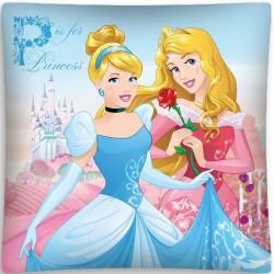 Poszewka dziecięca Księżniczki Princess 493 DETEXPOL rozmiar 40x40 cm