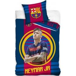 Pościel FC Barcelona Neymar FCB 9007 CARBOTEX rozmiar 140x200 cm