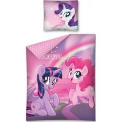 Pościel Kucyki Pony 608 DETEXPOL rozmiar 160x200 cm