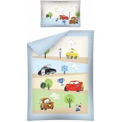 Pościel Auta Cars 581 DETEXPOL rozmiar 100x135 cm
