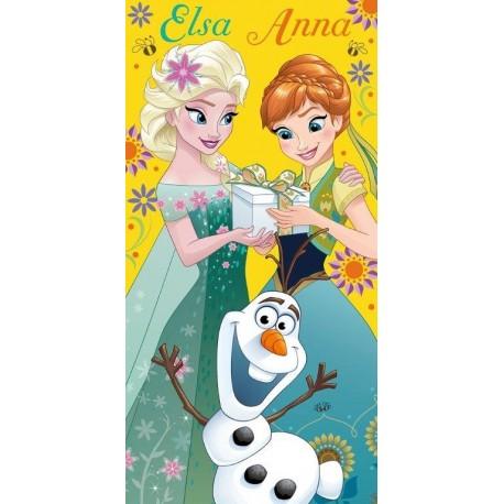 Ręcznik Kraina Lodu Frozen 158 FARO rozmiar 70x140 cm