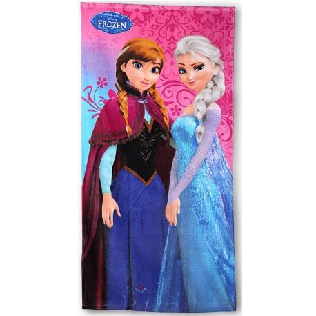 Ręcznik Kraina Lodu Frozen 466 SETINO rozmiar 70x140 cm
