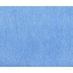 Prześcieradło dziecięce frotte z gumką rozmiar 70x140 niebieskie 038
