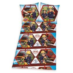 Pościel dziecięca Strażak Sam 8272 HERDING rozmiar 140x200 cm