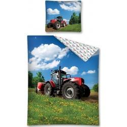 Pościel dziecięca Traktor 347 DETEXPOL rozmiar 160x200 cm