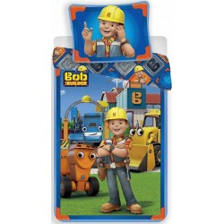 Pościel dziecięca Bob Budowniczy 303 JERRY FABRICS rozmiar 140x200 cm