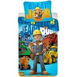 Pościel dziecięca Bob Budowniczy 607 JERRY FABRICS rozmiar 140x200 cm