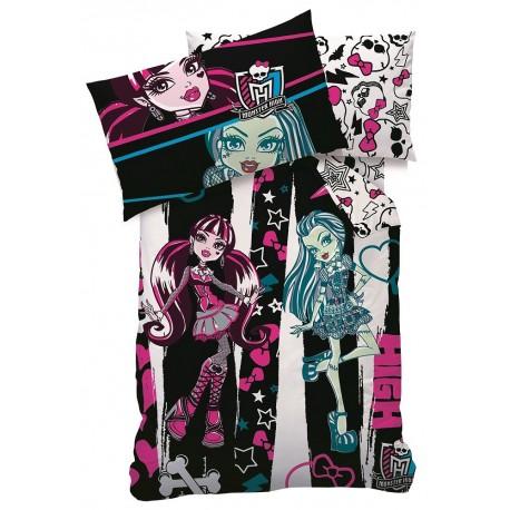 Pościel dziecięca Monster High 062 CTI rozmiar 160x200 cm