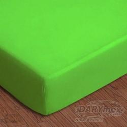 Prześcieradło jersey z gumką zielone 014 DARYMEX rozmiar 90x200 cm