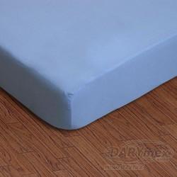 Prześcieradło jersey z gumką niebieskie 009 DARYMEX rozmiar 90x200 cm