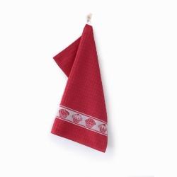 Ręcznik kuchenny mufinka czerwona ZWOLTEX rozmiar 50x50 cm