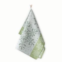Ścierka do naczyń Czapla 7928/5 śnieżka zielona ZWOLTEX rozmiar 50x70 cm