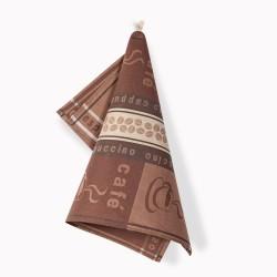 Ścierka do naczyń Czapla Kawa ciemny brąz ZWOLTEX rozmiar 50x70 cm